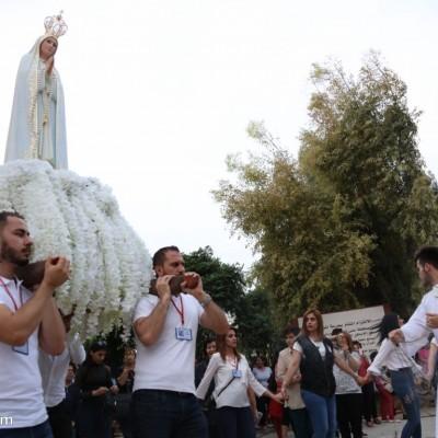 رعية ماركوركيس تواصل الاحتفالات بمئوية ظهورات العذراء فاطمة